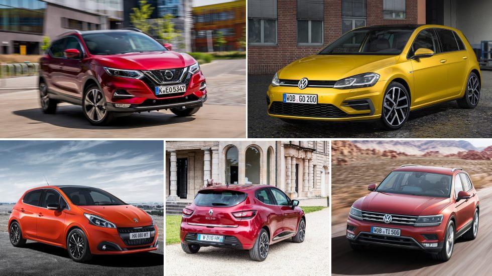 Los 25 coches y marcas con más ventas en Europa en 2018… y las decepciones