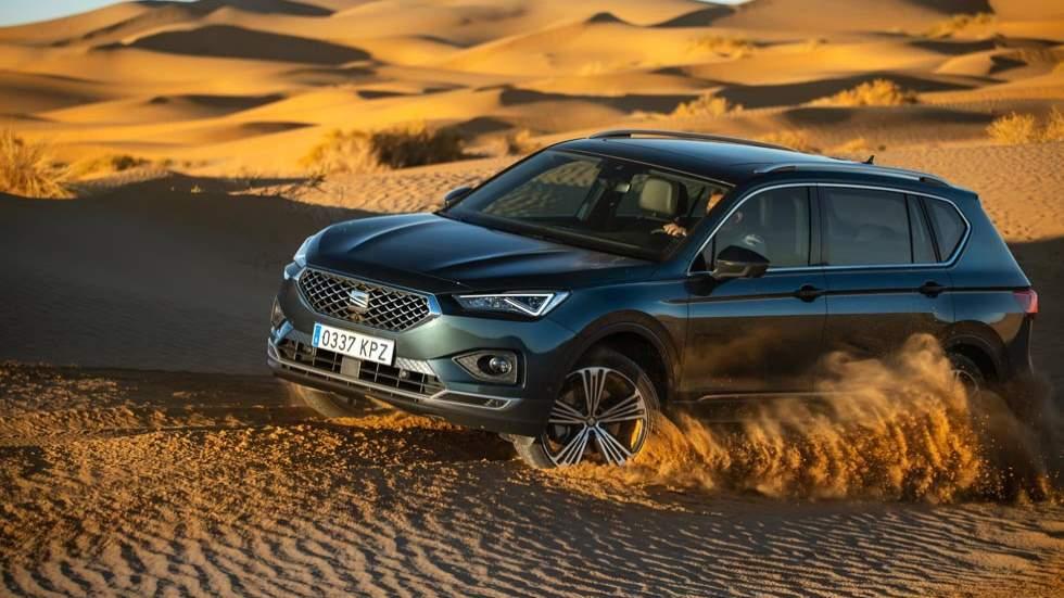 Seat Tarraco 4Drive: prueba extrema en Marruecos al nuevo SUV (vídeo)