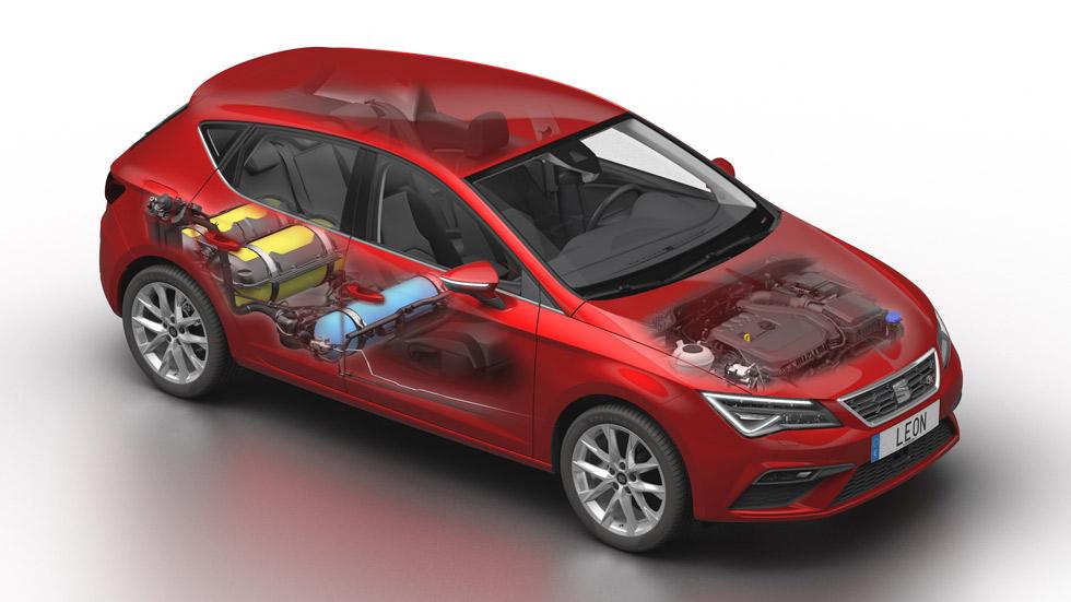 Seat León 1.5 TGi Evo: precios y VÍDEO del nuevo León de gas natural