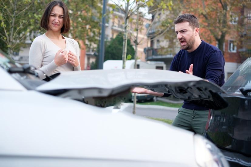 El mapa de los golpes de coches en España: ránking por provincias