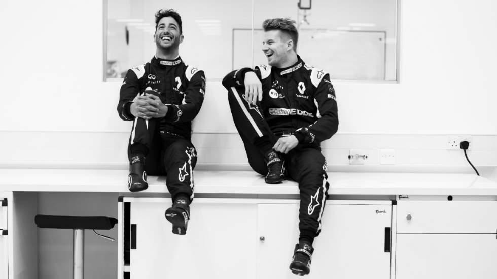 Fórmula1: Daniel Ricciardo ya viste de Renault