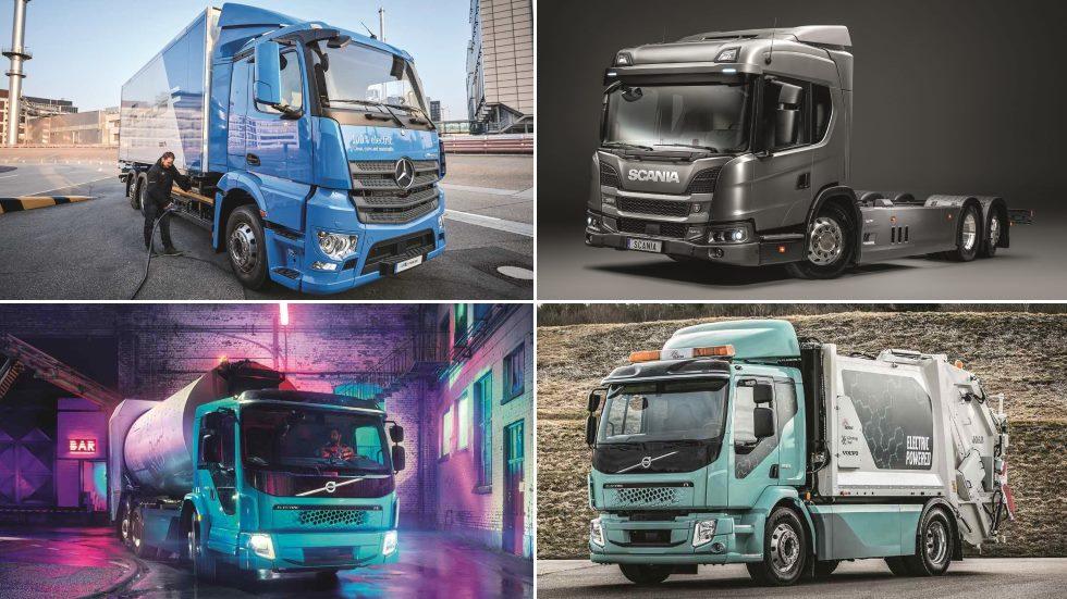 Todos los camiones eléctricos que llegan ya desde este 2019
