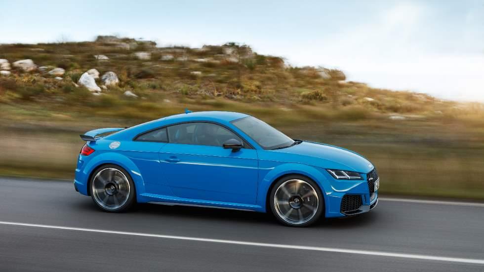 Audi TT RS Coupé y Roadster 2019: todos los datos y fotos de los nuevos deportivos