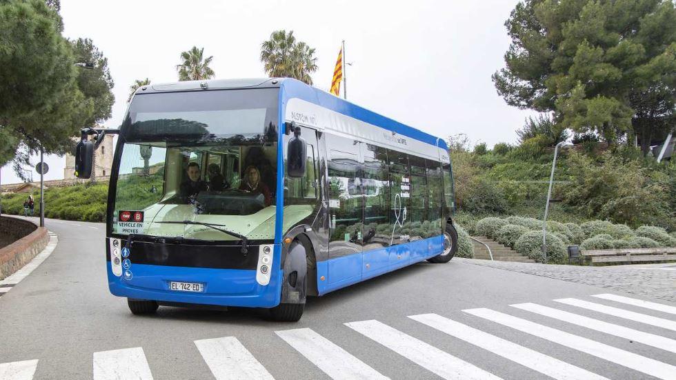 Alstom pone a prueba su primer autobús eléctrico: así es el Aptis