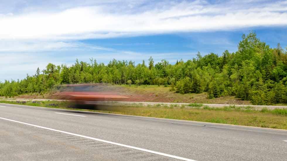Cazado a 246 km/h conduciendo el coche de un amigo