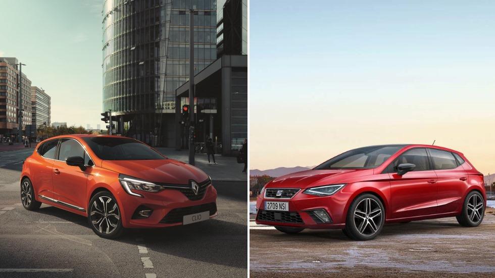Renault Clio 2019 vs Seat Ibiza: ¿cuál será el mejor utilitario del año?