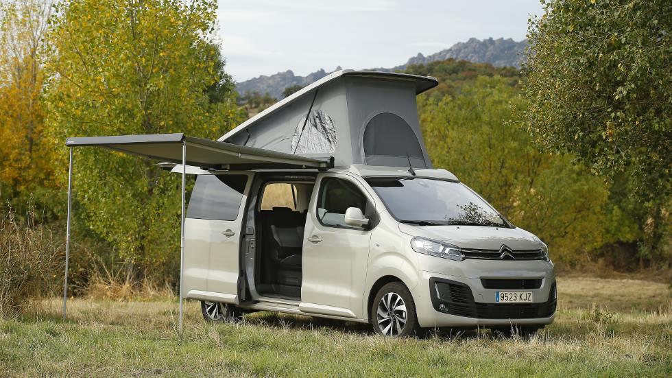 Citroën SpaceTourer By Tinkervan: fotos, datos y precios de la nueva camper familiar