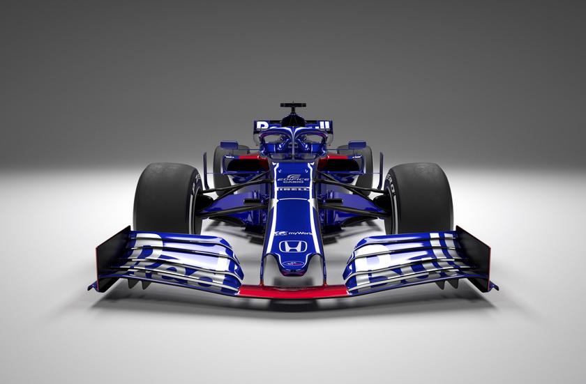 Fórmula 1: Toro Rosso STR14, el primero