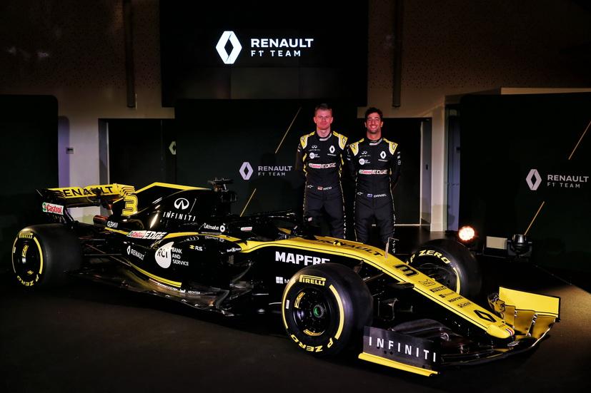 Renault presentó el RS19 de F1