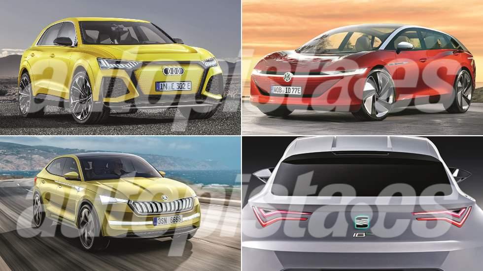 Revista Autopista 3088: así serán los nuevos coches eléctricos de VW, Audi, Seat y Skoda