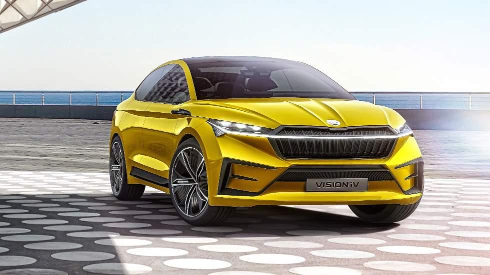 Skoda Vision iV Concept: nuevo SUV eléctrico en el Salón de Ginebra 2019