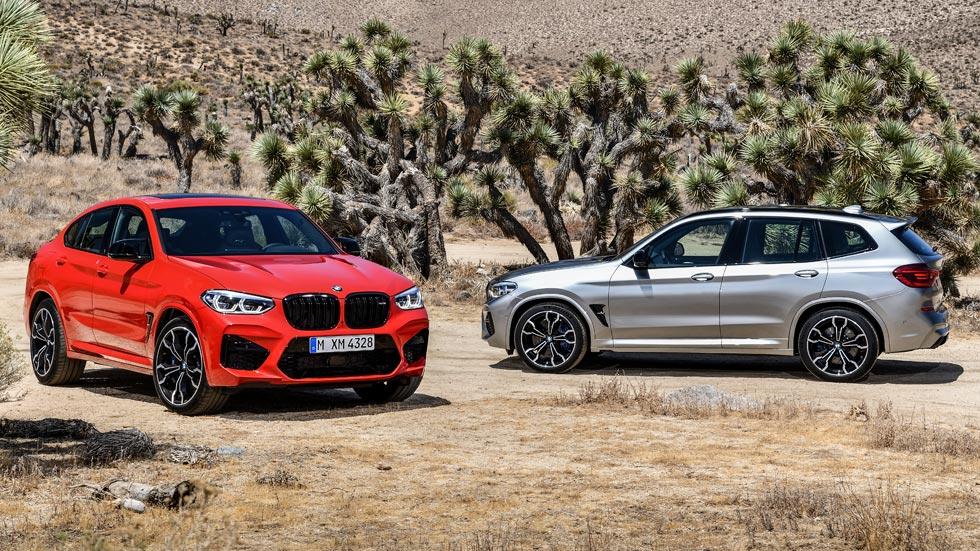 BMW X3 y X4 M: todos los datos y fotos de los nuevos SUV deportivos