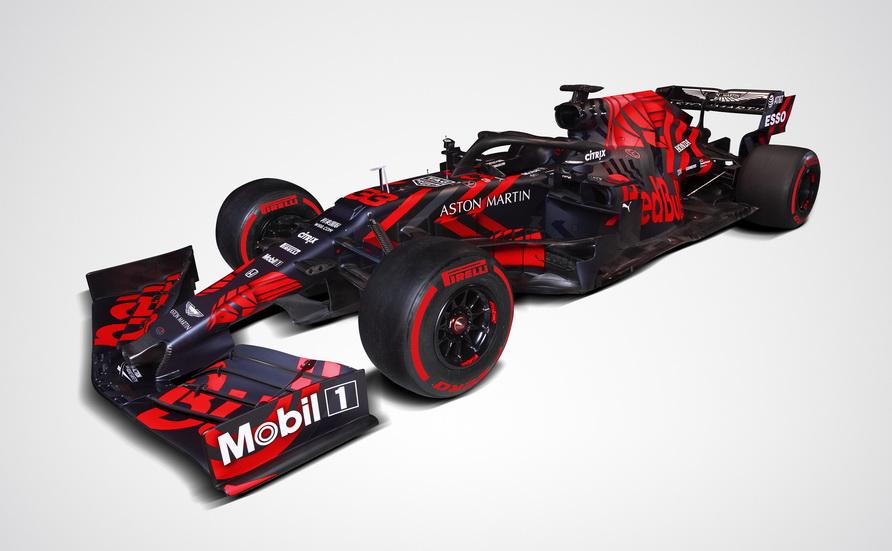 Fórmula 1: el Red Bull Honda RB15 en pista