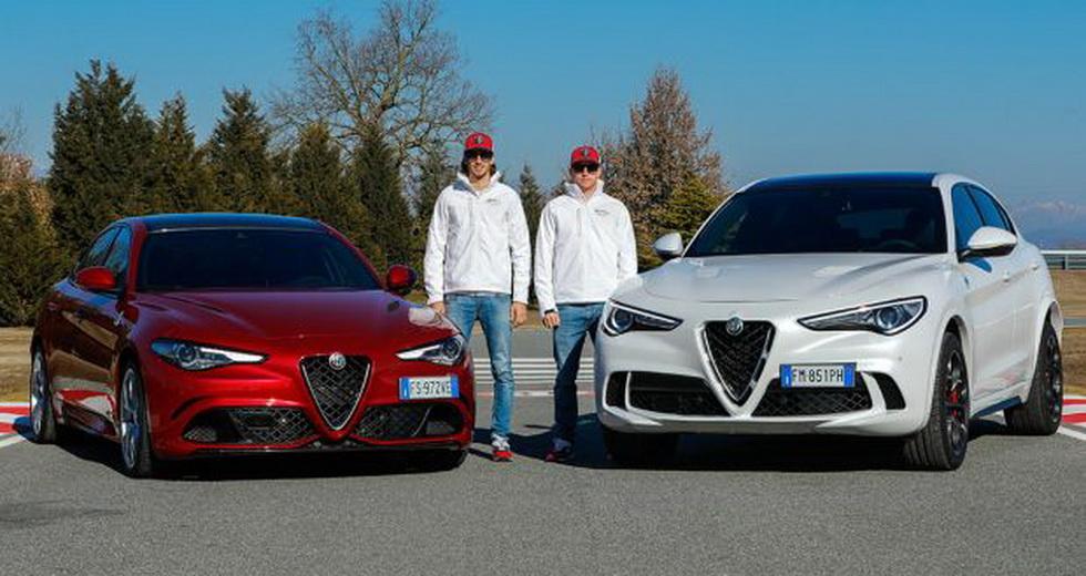 Fórmula 1: los pilotos de Alfa Romeo Racing en Balocco