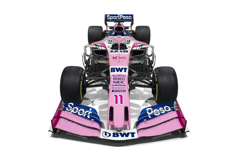 Fórmula 1: nuevos colores y nueva era para Pérez y Stroll en el Racing Point