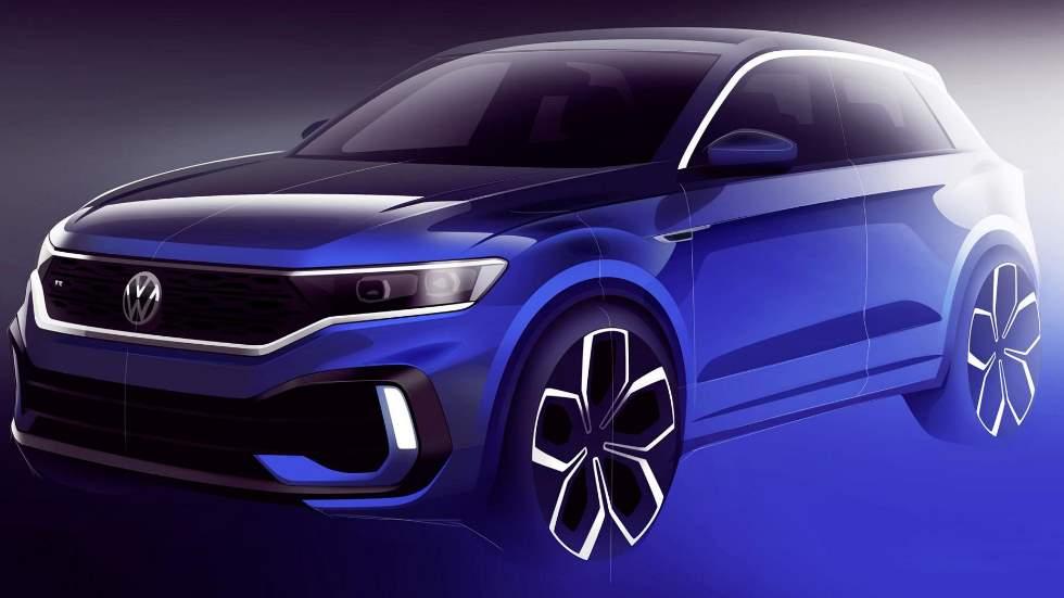 VW T-Roc R: primera imagen y nuevos datos del SUV deportivo