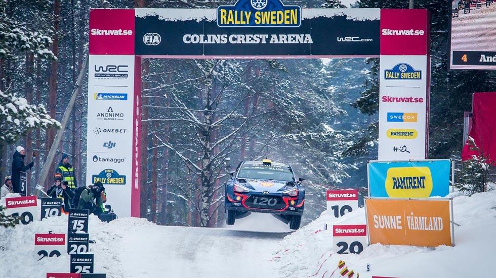 Rally de Suecia 2019: previo y horarios