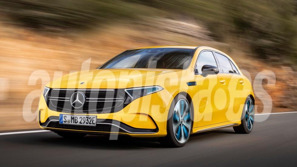 Exclusiva: Mercedes EQA, el nuevo compacto será más que un Clase A eléctrico
