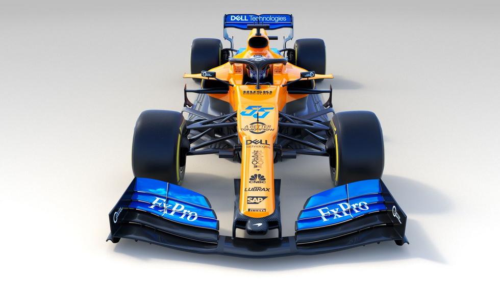 Fórmula 1: McLaren desvela su MCL34 junto a Sainz y Norris