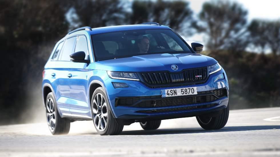 Skoda Kodiaq RS: a prueba el nuevo SUV deportivo y Diesel