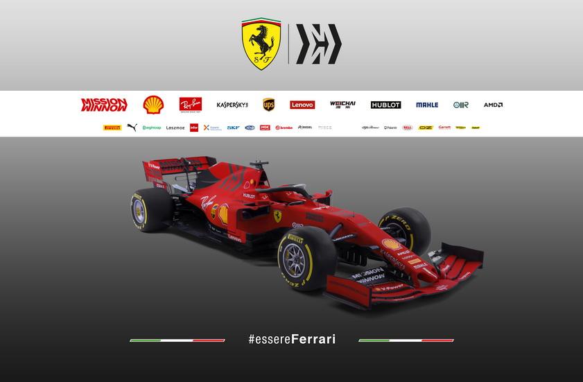 Fórmula 1: Ferrari presenta el SF90