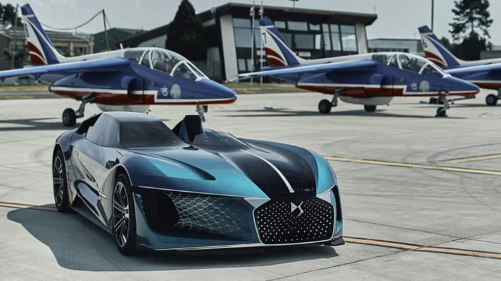 DS-X Concept: el deportivo asimétrico del futuro con más de 1.300 CV