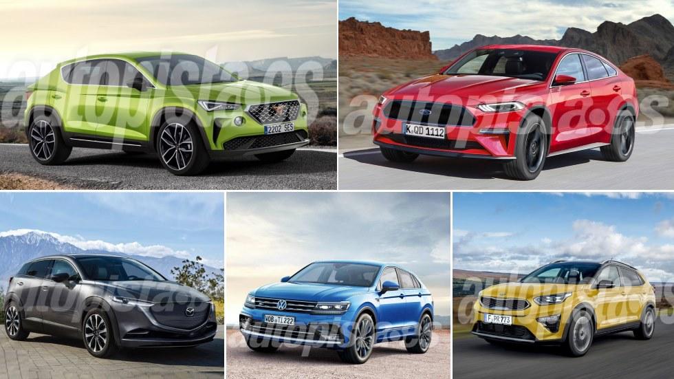 Los nuevos SUV más espectaculares de 2019: Xceed, Mazda, Cupra, Tiguan Coupé…