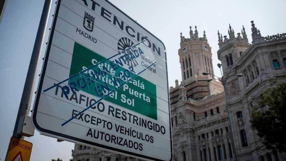 Madrid Central envía por error códigos de acceso a casi 10.000 menores