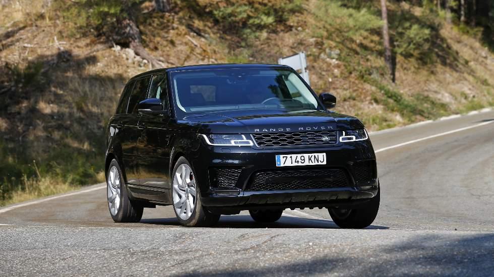 """Range Rover Sport P400E: a prueba el SUV híbrido con etiqueta """"CERO emisiones"""""""