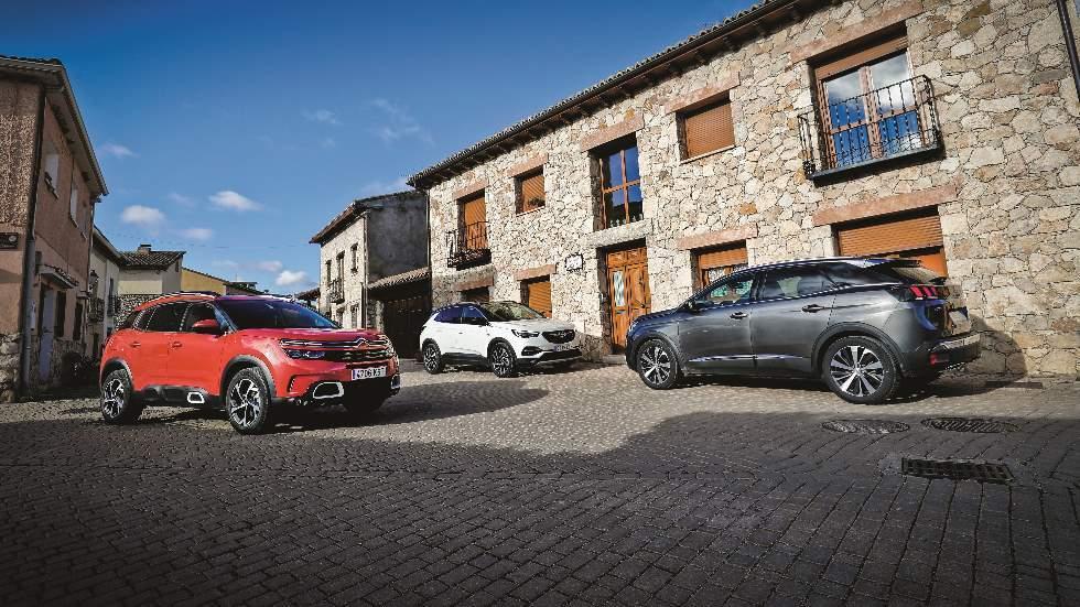 Revista Autopista 3089: qué SUV es mejor, ¿Peugeot 3008, Opel Grandland X o Citroën C5 Aircross?