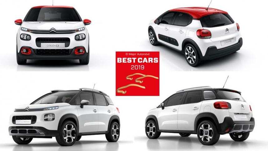 Best Cars 2019: éstos son los ganadores de un Citroën C3 y un C3 Aircross