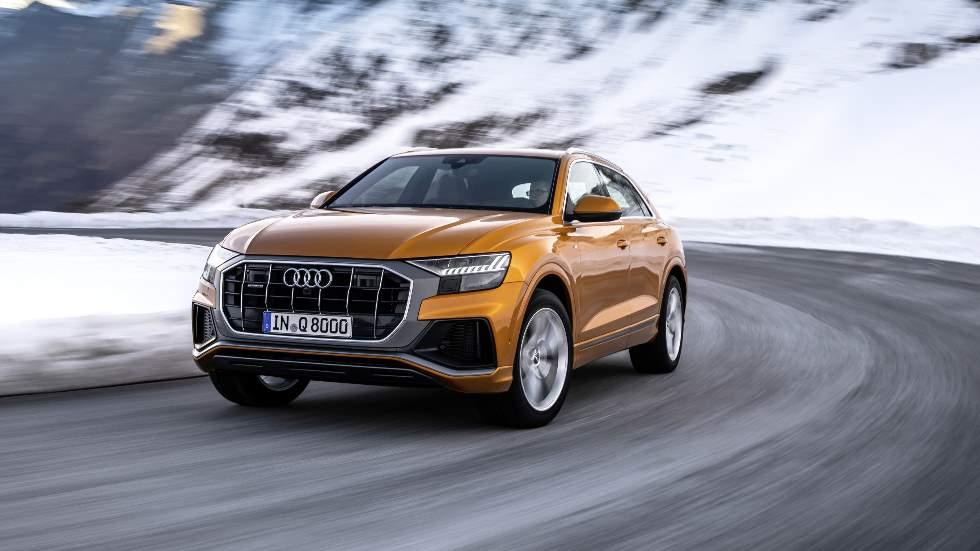 Audi Q8 2019: nuevos motores para el SUV coupé de lujo