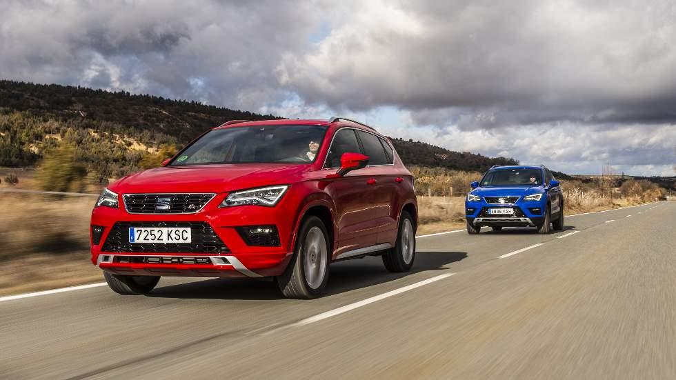 Seat Ateca 2019: prueba y precios de sus nuevos motores Diesel y gasolina de 150 CV