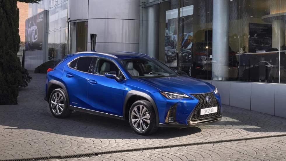 Lexus UX 250h 2019: precios y datos para España del nuevo SUV híbrido