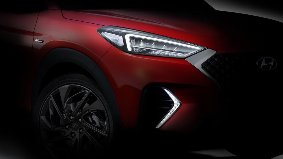 Hyundai Tucson N Line, ¿un aperitivo del futuro SUV deportivo?