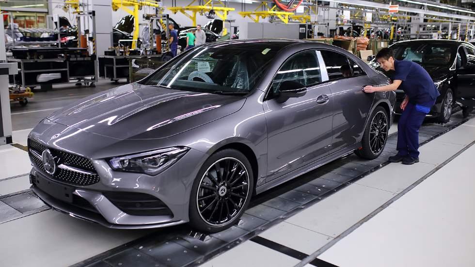 Mercedes CLA Coupé 2019: así es la nueva berlina coupé, ya en producción