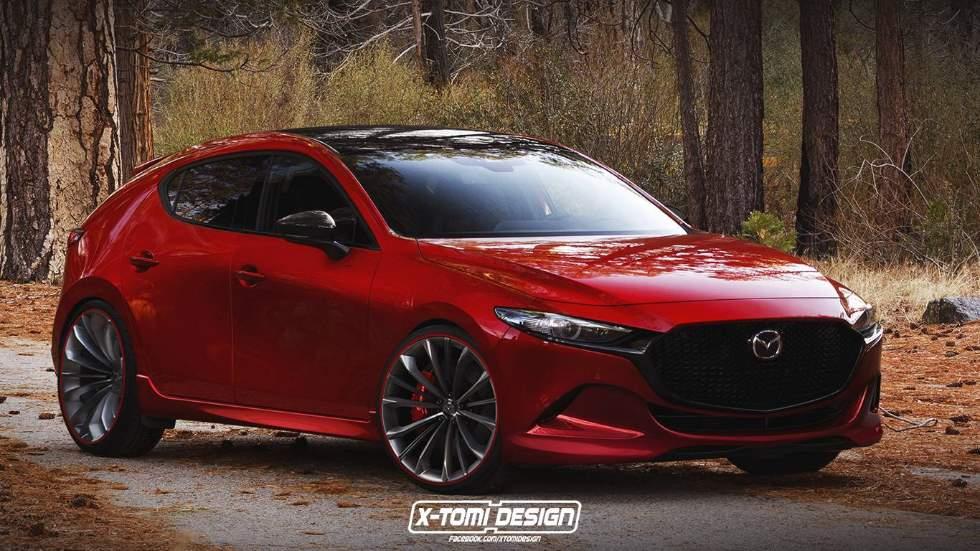 Mazda3 MPS 2019: así podría ser el nuevo compacto deportivo