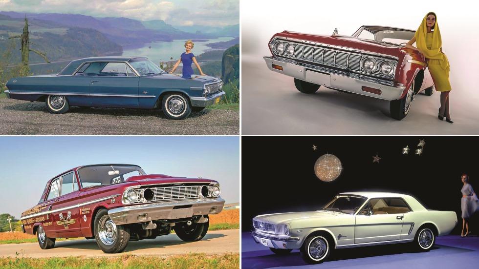 El sueño americano: historia y guía completa de los mejores muscle y pony cars