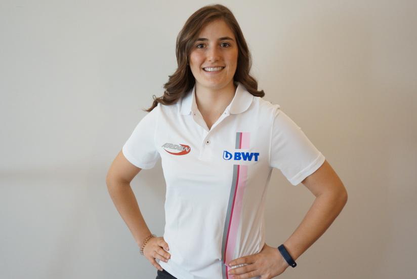 Tatiana Calderón a la F2
