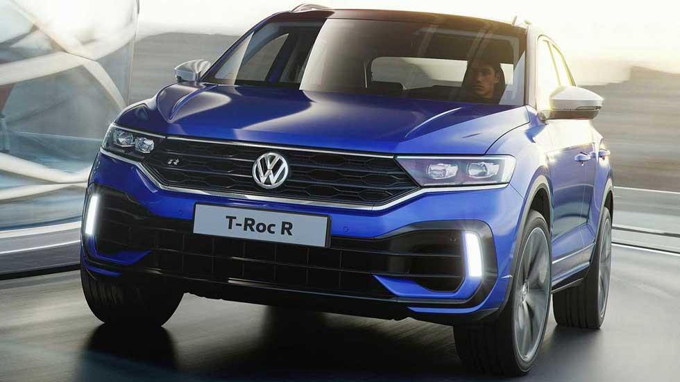 VW T-Roc R: datos y fotos oficiales del nuevo SUV deportivo