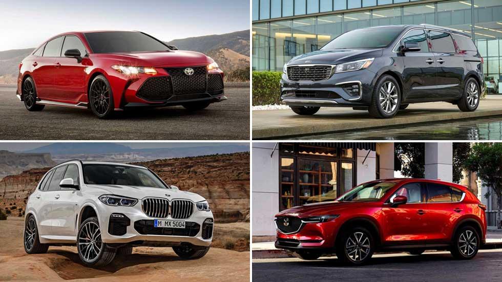 Los 10 coches más fiables en 2019 para comprar, y los mejores por segmentos