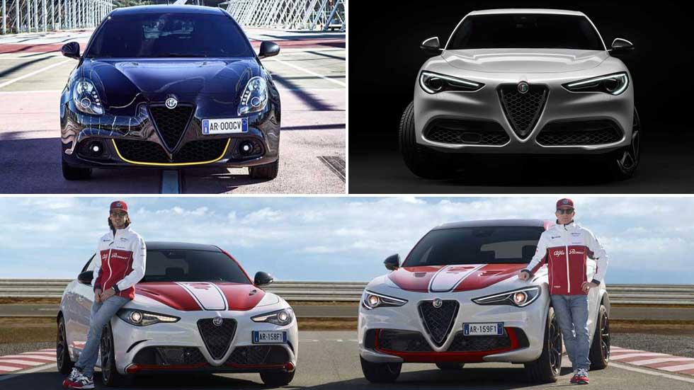 Las novedades de Alfa Romeo en Ginebra: Giulietta 2019 y versiones de Giulia y Stelvio