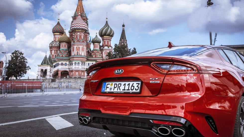 Recorremos Rusia con el Kia Stinger: prueba y aventura de Moscú a San Petersburgo
