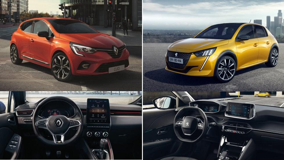 Peugeot 208 vs Renault Clio: el gran duelo de nuevos utilitarios, ¿cuál es mejor?