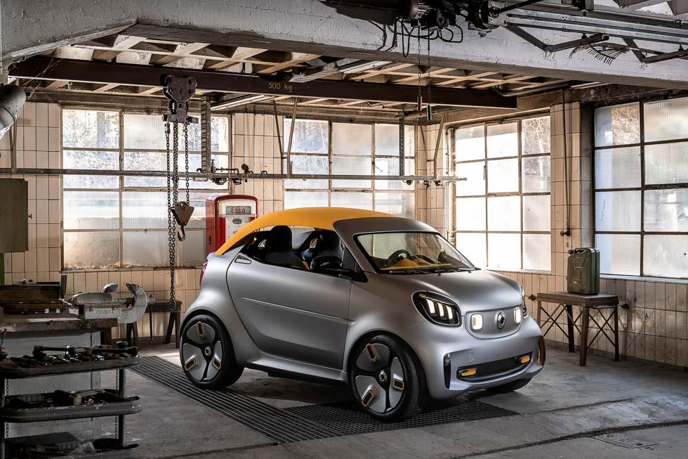 Smart Forease+ Concept: nuevo atleta urbano