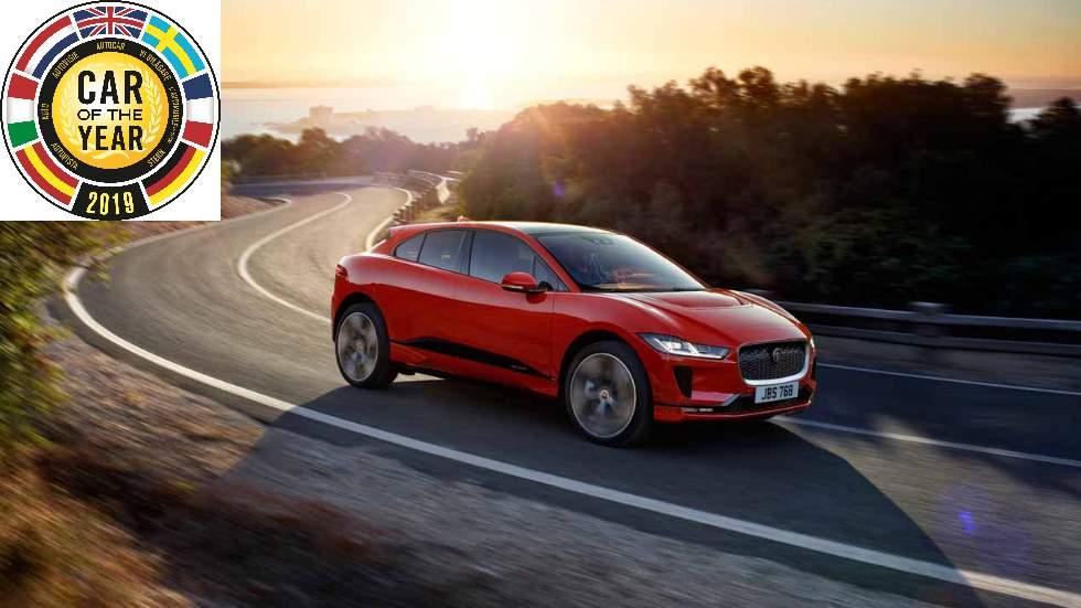 Jaguar i-Pace, ¡ganador del Coche del Año en Europa 2019!
