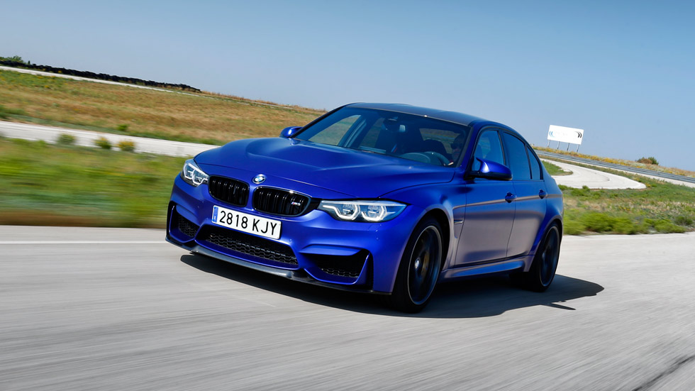 BMW M3 CS: a prueba una berlina deportiva muy especial