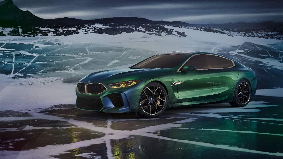 BMW Concept M8 Gran Coupé: así es el nuevo coupé deportivo de cuatro puertas