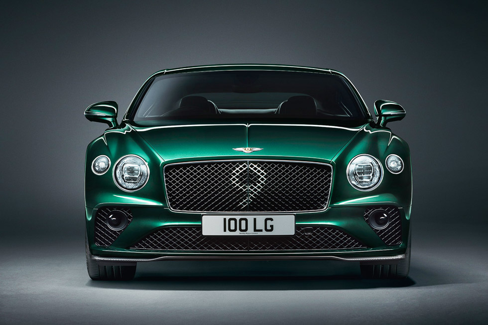 Bentley Continental GT Number 9 Edition, ¡feliz 100 cumpleaños, Bentley!
