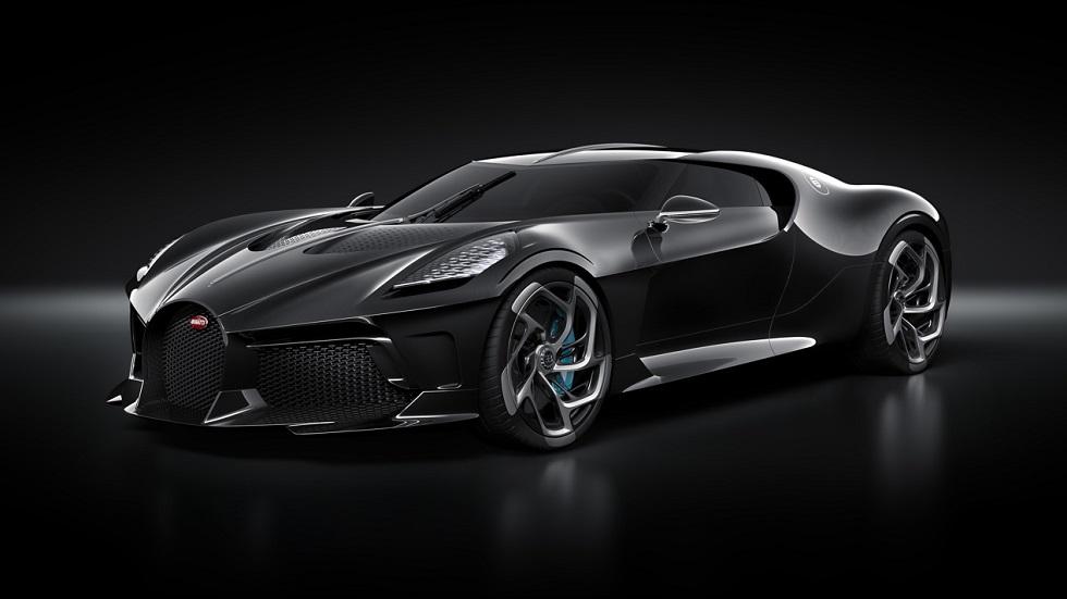 Bugatti 'La Voiture Noire', exclusividad máxima de ¡11 millones de euros!